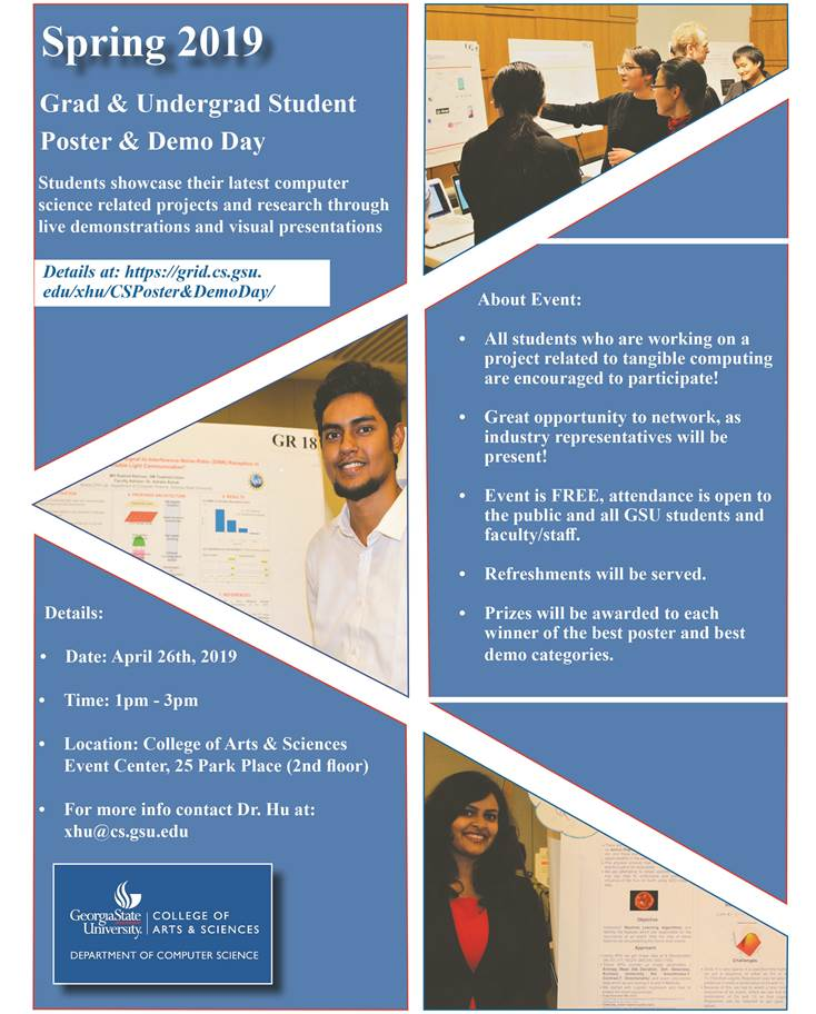 CS Demo-Poster Day flyer_Spring 2019